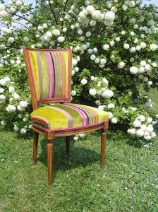 Restauration siège et fauteuil Angers Trélazé