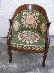 Restauration fauteuil - siège Angers Trélazé