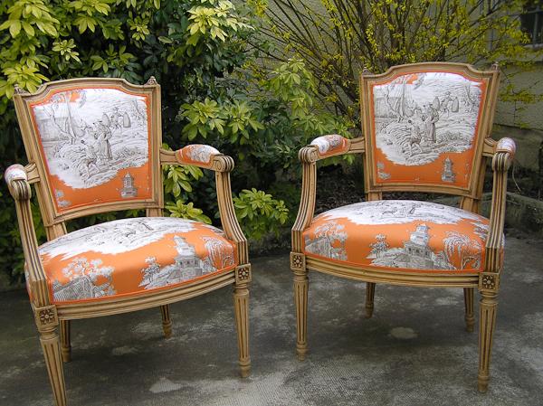 restauration fauteuil siege et canap tapissier d corateur ma tre artisan angers tr laz. Black Bedroom Furniture Sets. Home Design Ideas
